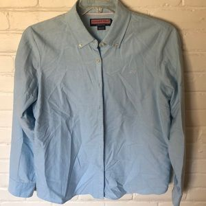 Vineyard Vines blue button down
